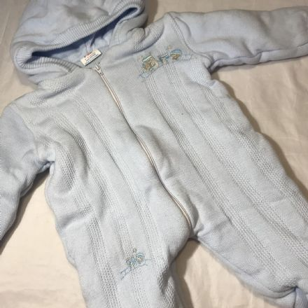 3-6 Month Padded Pramsuit